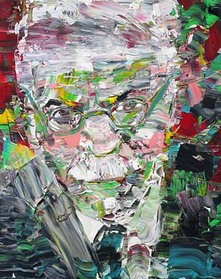 Carl Jung  Portrait Poster by Fabrizio Cassetta