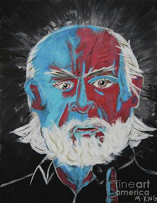 Carlin Poster by Kevin King