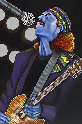 Carlos Poster by Nannette Harris