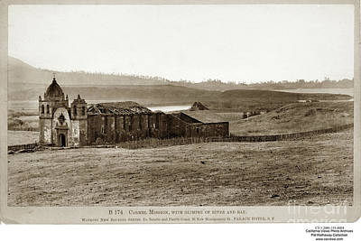 Carmel Mission, With Glimpse Of River And Bay Circa 1880 Poster