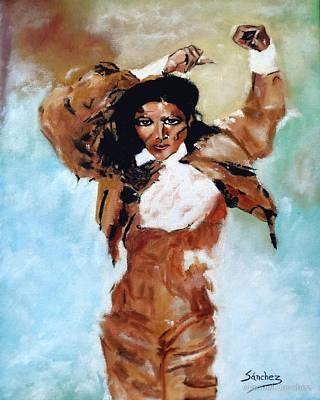 Carmen Amaya Poster by Manuel Sanchez