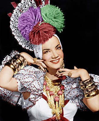 Carmen Miranda, Ca. 1940s Poster