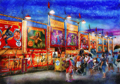 Carnival - World Of Wonders Poster by Mike Savad