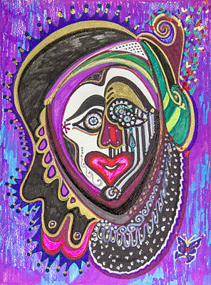 Carnival Face Poster