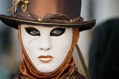 Carnival In Brown Poster by Stefan Nielsen
