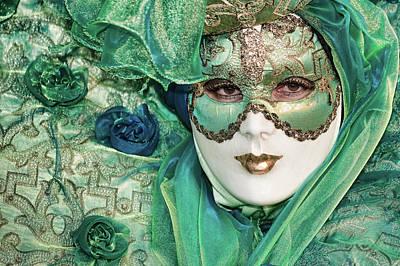 Carnival In Green Poster