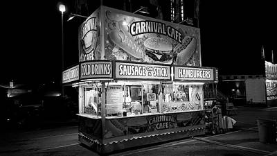 Carnival Life Sausage On A Stick Poster by Stephanie Hamilton