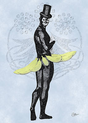 Carnival Of Cadiz Poster by Quim Abella