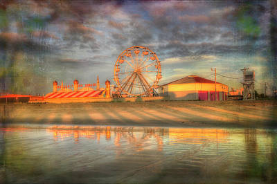 Carnival - Old Orchard Beach - Maine Poster by Joann Vitali