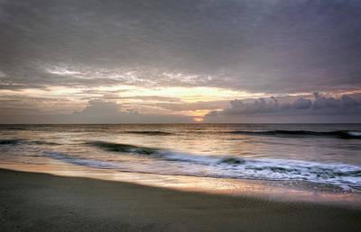 Carolina Beach Morning Poster by Greg Mimbs