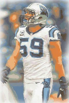 Carolina Panthers Luke Kuechly Poster