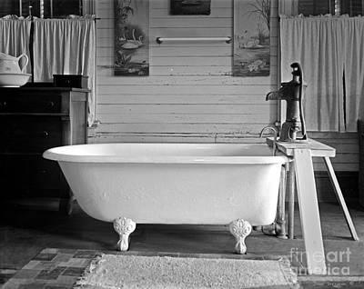 Caroline's Key West Bath Poster by John Stephens