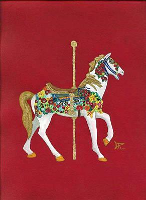 Carousel Horse #2 Poster