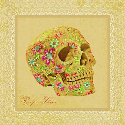 Carpe Diem Poster by Olga Hamilton
