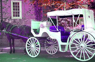 Poster featuring the photograph Carriage Ride by Susan Carella