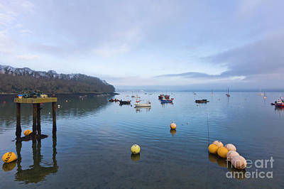 Carrick Roads From Mylor Harbour Poster