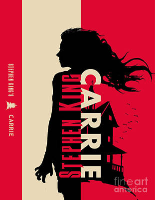 Carrie By Stephen King Book Cover Movie Poster Art 2 Poster by Nishanth Gopinathan