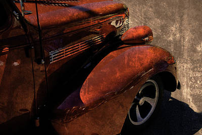 Cars Master Deluxe Pavement Rust Poster