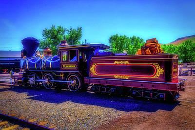 Carson City Glenbrook Locomotive Poster