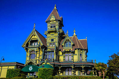 Carson Mansion Poster by Garry Gay