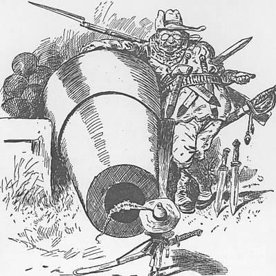 Cartoon: T. Roosevelt, 1903 Poster by Granger