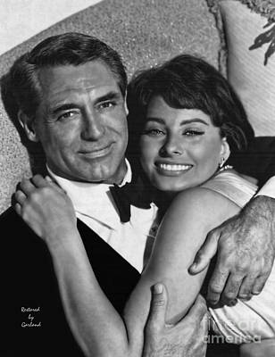 Cary Grant And Sophia Loren  Poster