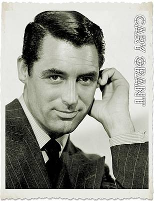 Cary Grant Poster by John Springfield
