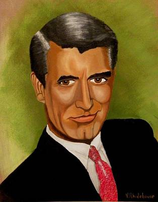 Cary Grant Poster by Victoria Rhodehouse