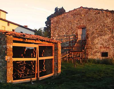 Casa Bella Sunset Poster