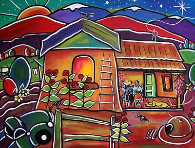 Casa De Abeulos Poster
