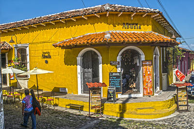Casa De La Abuela Suchitoto Poster by Totto Ponce