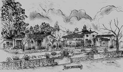 Casa Dulzura Of Montecito Poster
