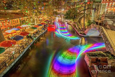 Casa Rio Rainbow Poster