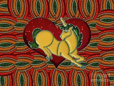 Casablanca Unicorn Dreams Poster