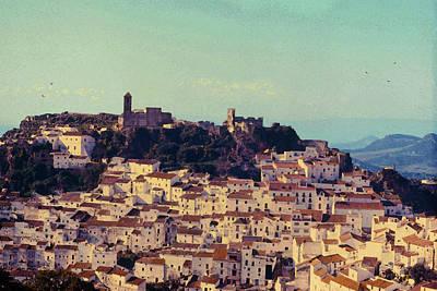 Casares Espana In Golden Light Circa 1972 Poster