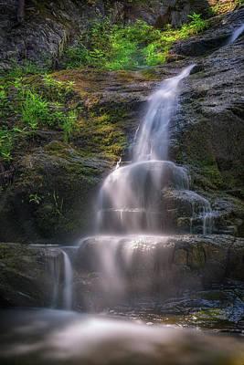 Poster featuring the photograph Cascade Falls, Saco, Maine by Rick Berk