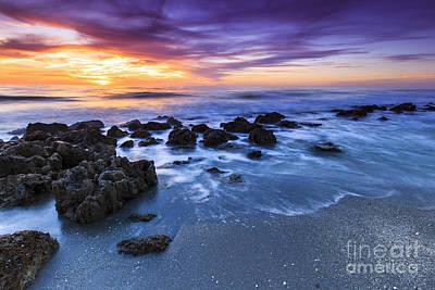 Casperson Beach Sunset 2 Poster