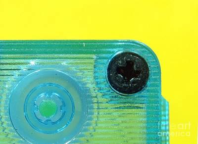 Cassette Tape Closeup Poster