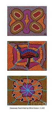 Cassowary - Food - Nest Poster