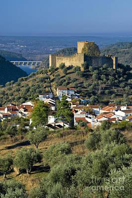 Castelo De Belver Poster by Mikehoward Photography
