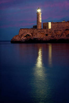 Castillo Del Morro Lighthouse Havana Cuba Poster