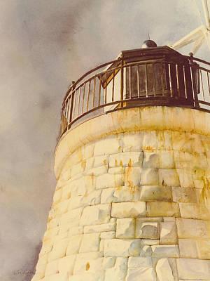 Castle Hill Light Poster
