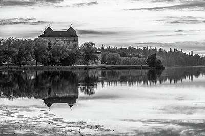Castle In Black And White Poster by Teemu Tretjakov