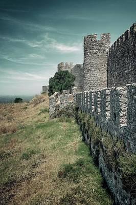 Castle Of Santiago Do Cacem Poster by Carlos Caetano