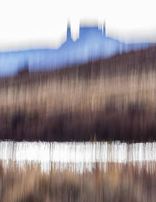 Castle Rock And Colorado River Poster