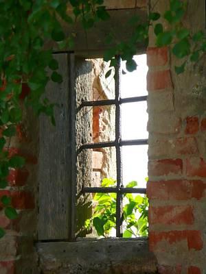 Castle Window Poster