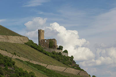 Castle With Clouds Poster by Teresa Mucha