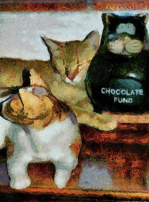 Cat Collection Poster by Dorothy Berry-Lound