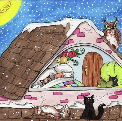 Cat Condo Poster