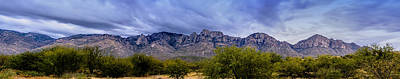 Poster featuring the photograph Catalina Mountains P1 by Mark Myhaver